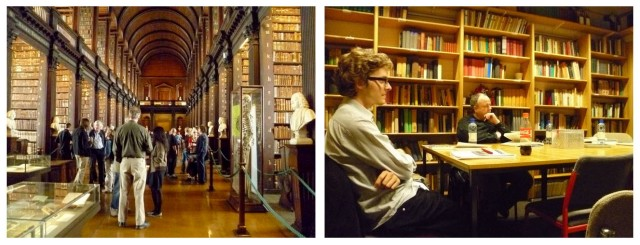 Trinity College Library and Reading Group during a previous Summer School