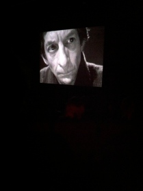 Eh Joe being screened during the Film Beckett Film public event
